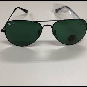NWT New Ray Ban Aviator Classic Sunglasses